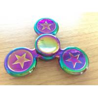Quality Beautiful Alloy 3 Leaves Hand Spinner Fidget Toy Addictive Fidget Toys for sale