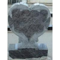 Quality Black Granite Circle Gravestone (LY-198) for sale