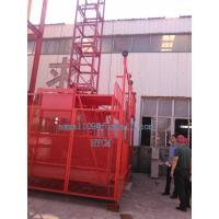 Wholesale SS100 Single Cage Elevator for Materials 40mts High 1 ton Lift 220V 60Hz from china suppliers