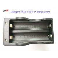 Quality 2 Slots 18650 Intelligent Battery Charger Led Display Fast Charging UL CE KC for sale