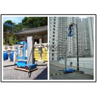 Wholesale Vertical Single Mast Lift Aluminum Work Platform With 10 Meter Platform Height from china suppliers