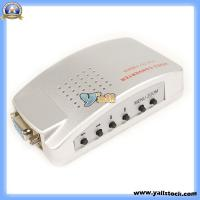 Wholesale PC VGA to TV S-Video Signal Converter Box F PC Notebook (C0027) from china suppliers