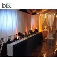 Wholesale Portable pipe and drape marriage decoration for special event backdrop from china suppliers