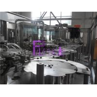 Wholesale Monoblock Liquid Filling Machine , 5 In 1 Plastic Bottle Pulp Juice Filler from china suppliers