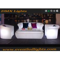 Wholesale Multi Color Led Furniture Led Sofa Set With Remote Controller For Club , Bar from china suppliers