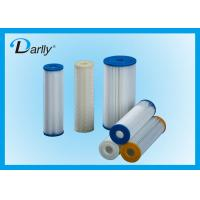 Wholesale 5 Micron Water Filter Cellulose Pleated Filter Cartridge with Low Pressure Drop from china suppliers