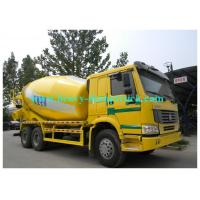 Wholesale SINOTRUK concrete mixer truck 6x4 10CBM Eton or Bonfiglioli pump / reduction box / Motor from china suppliers