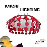 Wholesale Residentail Lighting Pendant Lamp Fixture Iron Material Three Lamp Holders 15 watt LED from china suppliers