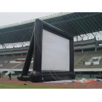 Wholesale Customizable Airtight Inflatable Movie Screen PVC Tarpaulin 4 * 4m With Blower from china suppliers