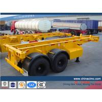 Wholesale CIMC 20 feet container semi trailer from china suppliers