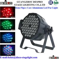 Wholesale Aluminum Mixing Color LED Par Can Lights Disco Creative Stage Lighting from china suppliers