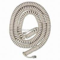 Wholesale Spiral Cords with Extension Electrical Power Cable for Telephone from china suppliers