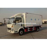Quality Sinotruk Light Duty Ice Box Truck Right Hand Driving Truck With KV 300 Refrigerator for sale