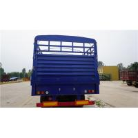 Buy cheap tri axle tons per 40 ft walle trucks fence cargo semi trailer - CIMC from wholesalers