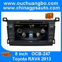Wholesale Ouchuangbo central multimedia radio DVD for Toyota RAV4 2013 S100 platform with DVR TMC from china suppliers