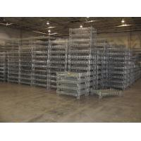 Wholesale Stacking Racks Containers Wire Mesh Basket Steel Container Industrial Use Container from china suppliers
