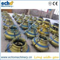 cone crusher concave and mantle