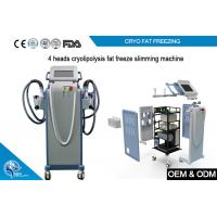Wholesale Non Invasive Cryolipolysis Machine Fat Freezing For Body Slimming with 4 handle from china suppliers