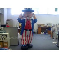 Wholesale Decorative Inflatable Uncle Sam Costume Custom Moving Inflatable Mascot Costume from china suppliers