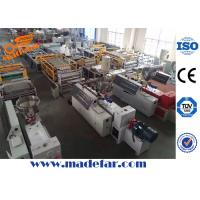 Buy cheap PVC Glazed Wave Roof Tile Production Line from wholesalers
