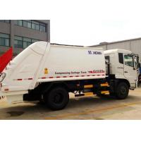 China Automatic Special Purpose Vehicles Rear Loader Garbage Truck Hydraulic System on sale