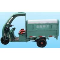 Quality 1000W Sanitation Electric Truck Three Wheel Tricycle With Dry Battery for sale