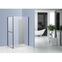 Wholesale Chrome Side Pivot Open Corner Entry Shower Enclosures 1200 x 800 with Mirror Glass from china suppliers