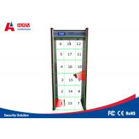 Wholesale Digital Archway Walk Through Metal Detectors With 18 Detection Zones Convert Function from china suppliers