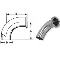 "Wholesale ASTM A270 Sanitary Stainless Steel Fittings Elbows 1/4""-4"" Matte Polsihed from china suppliers"