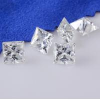 Wholesale Genuine Loose Diamond Moissanite 1 Carat Moissanite Fancy Cut 6 Mm Super White from china suppliers
