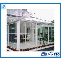 Wholesale China manufacturer top quality white painted aluminum profile for sunroom from china suppliers
