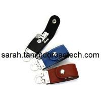 Wholesale Manufacturer Supply New Model USB3.0 Leather USB Flash Drive for Promotional Products from china suppliers