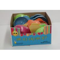 Wholesale Plastic Ice Cream Bowl Set , Ice Cream Serving Set With Custom Color from china suppliers