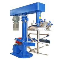 Wholesale Hydraulic Lifting Coaxial Industrial Mixing Machine / Ribbon Mixer for coating , ink , pigment making industry from china suppliers