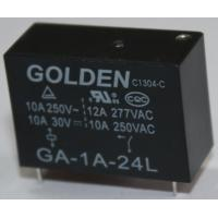 Wholesale 10A 250V Small Telecom Relay Subminiature PCB Power Relay in Black from china suppliers
