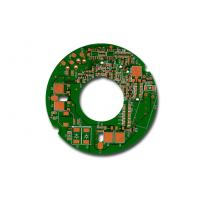 Wholesale Round PCB Prototype 4 Layer Circuit Board Assembly HASL LED PCB Board from china suppliers