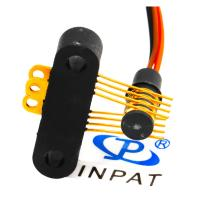 Wholesale 360° Continuous Rotating Separate Slip Ring Small With 4 Circuits from china suppliers