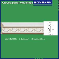 Quality Polyurethane interior living room decoration moulding /chair rails/ white primed color customized OEM accepted for sale
