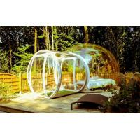 Quality Transparent  Room Inflatable Tent , Inflatable Bubble Tent With Blower for sale