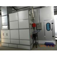 Buy cheap Autobody Spraybooth Equipment with Riello Oil Burners and intake and exhaust fans from wholesalers