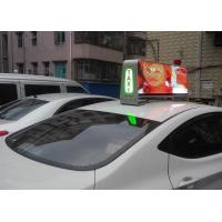 P5 Digital SMD Full Color Taxi Led Display For Car , Super Clear Vision