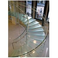 Wholesale Curved Tempered Safety Glass FOR Railing , Architecture , Furniture from china suppliers