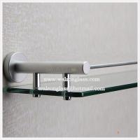 Wholesale Pencil Edge Clear Tempered/Toughened Glass for Bathroom Shelf from china suppliers