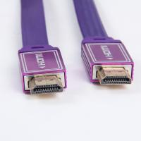 Wholesale Professional manufacturer HDMI cable nylon braid flat HDMI cable from china suppliers
