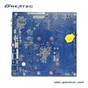 Quality 3855U CPU 2 COM Ports Industrial Mini ITX Motherboard LVDS / HDMI Ports Support 4K ZC-T3855SL for sale