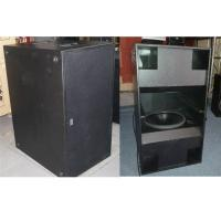 Wholesale Powerful Double 18 inch Subwoofer Speakers 2400W RMS for Concert and Tour from china suppliers