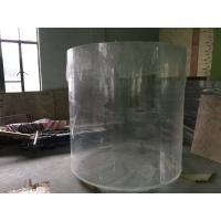 Wholesale Clear Round Acrylic Aquarium Fish Tanks For Building Decoration from china suppliers