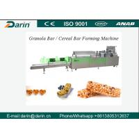 Wholesale Continously CE& ISO9001 Certified Cereal Bar Forming Machine with 24V Safety Voltage from china suppliers