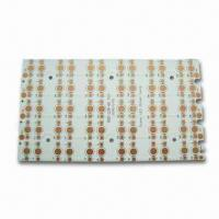 Wholesale Aluminum Base PCB with 0.5 to 5oz Immersion Copper Finish and 0.4 to 3mm Board Thickness from china suppliers