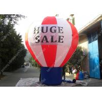 Wholesale Commercial Inflatable Advertising Balloons , Large Helium Balloons For Advertising from china suppliers